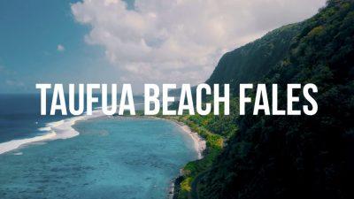 Taufua Beach Fales Lalomanu Samoa Thumb